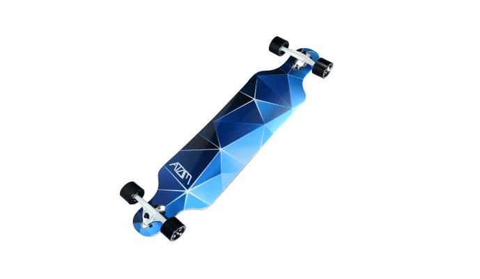 atom drop though longboard