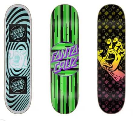santa cruz vx carbon fiber skateboards