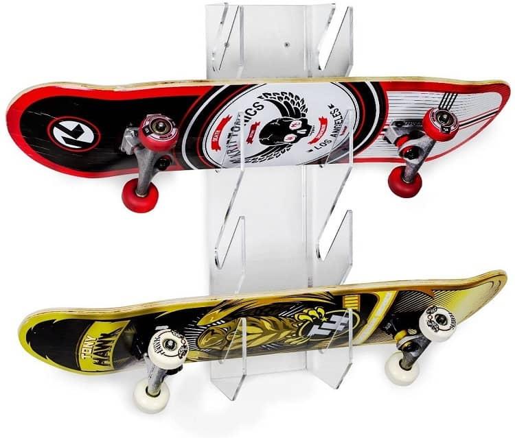 SOURCEONE Deluxe Tier Skateboard Storage Display Rack