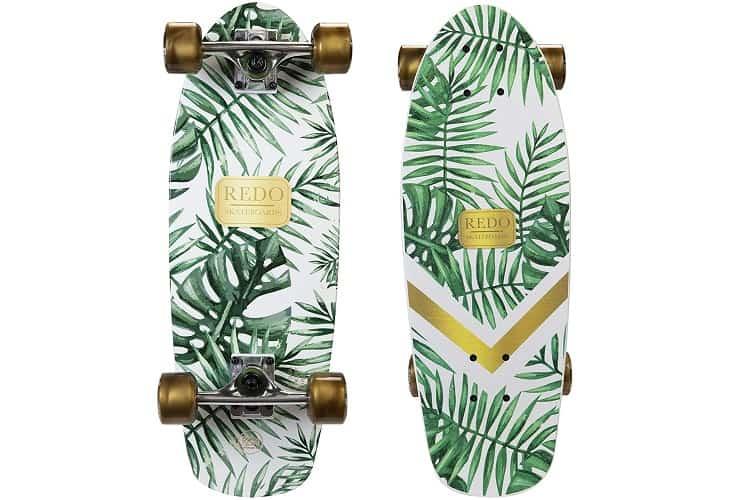 ReDo Skateboard Shorty Green Palm Cruiser