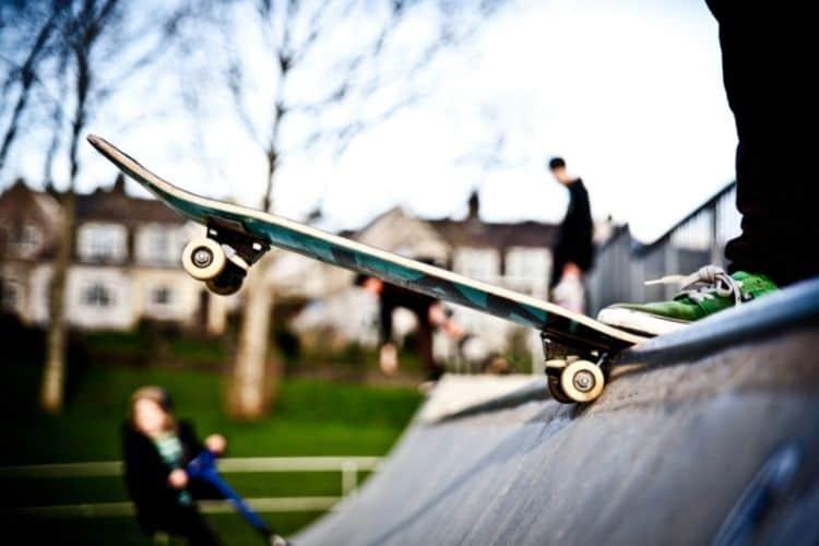 Dropping in Skate